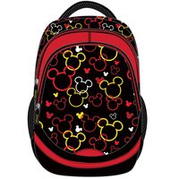 """Mickey Adult - Backpack 18"""" Bk"""