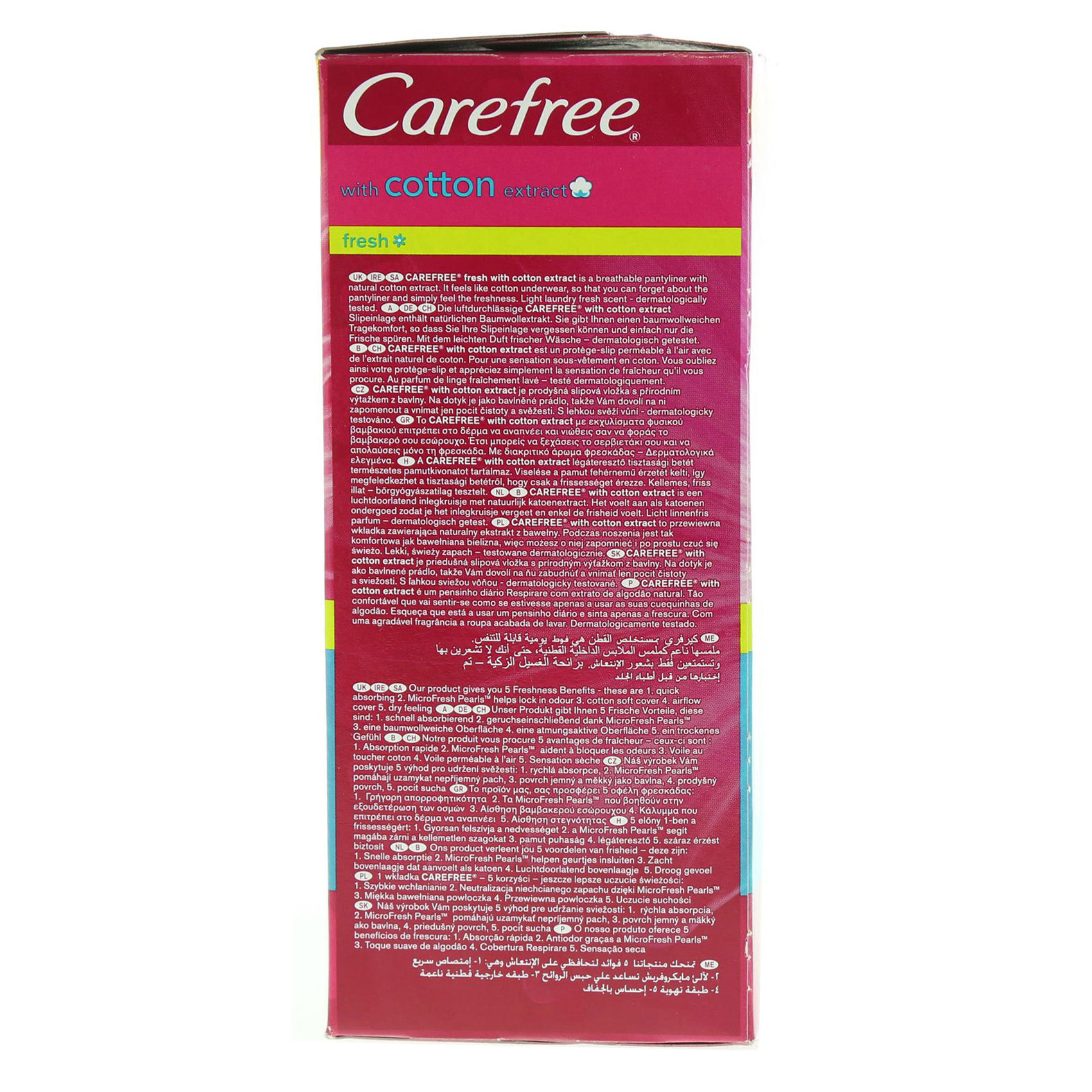 CAREFREE LINER BREATHABLE FRESH X34