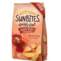 Sunbites Breadbites Sweet Chili Pepper 110g