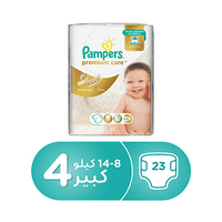 Pampers Diapers Premuim Care Maxi Size 4 23 Pieces