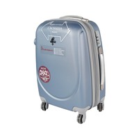 باسيفيك حقيبة سفر خامة صلبة 4 عجلات مقاس 20 انش لون برتقالي