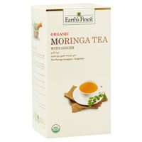 Earth's Finest Organic Moringa Tea Ginger 37.5g