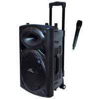 Magic Star Boombox Trolley Speaker BB112 + Microphone