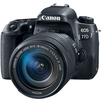 Canon SLR Camera EOS 77D 18-135MM IS USM Lens Kit