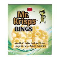 Mr Krisps Ring Jalapeno 15gx25