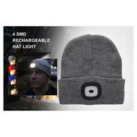 Recharge Head Light With Cap