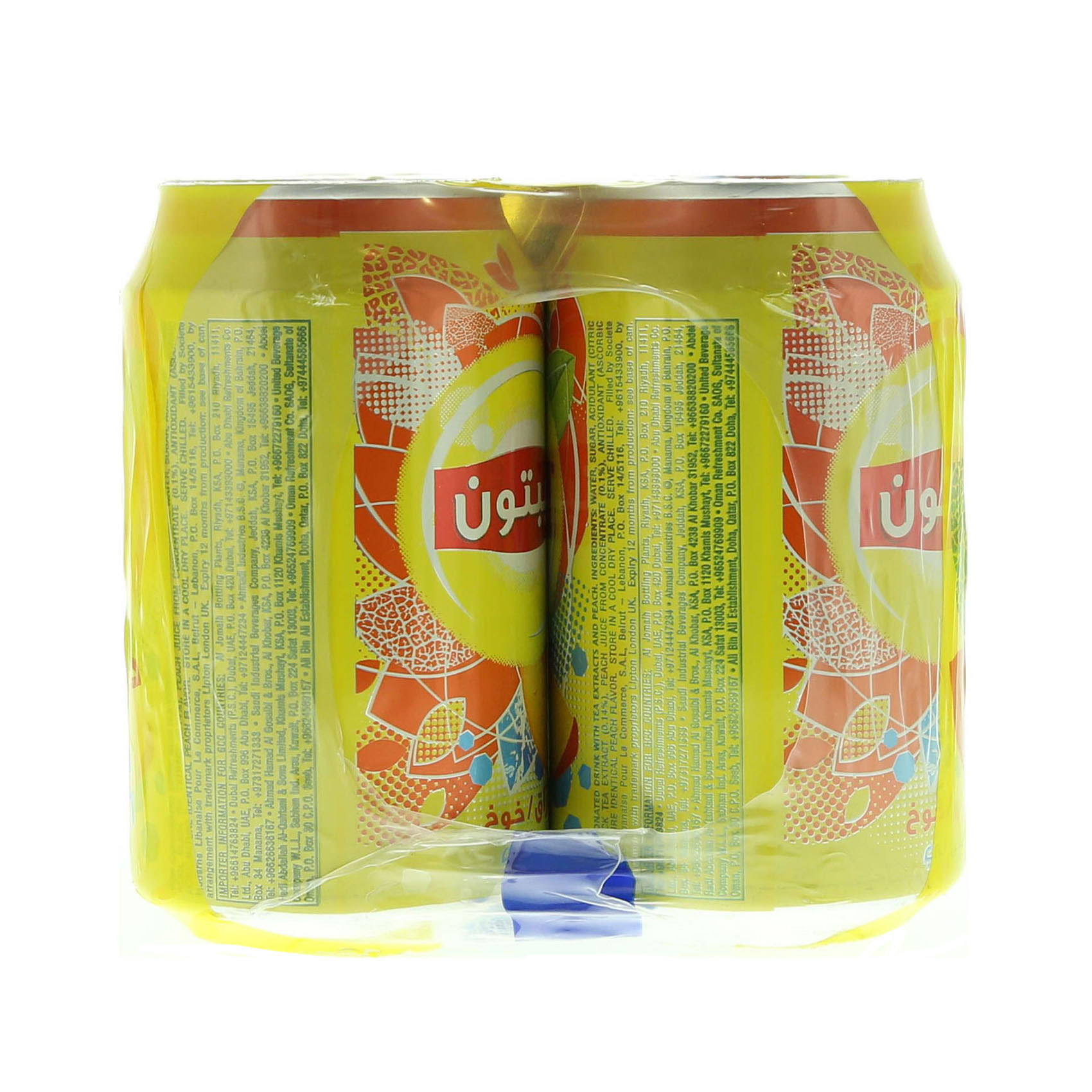 LIPTON ICE TEA PEACH 320MLX6