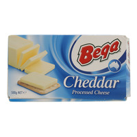 Beqa Cheddar Processed Cheese 500g
