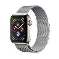 Apple Watch Series-4 GPS + Cellular 44mm Stainless Steel Case with Milanese Loop (MTX12AE/A)