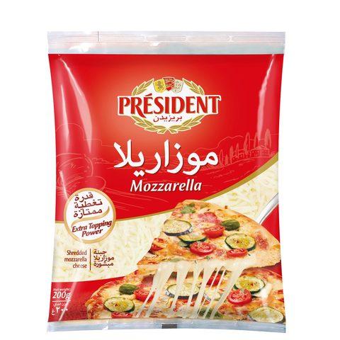 President-Shredded-Mozzarella-200g