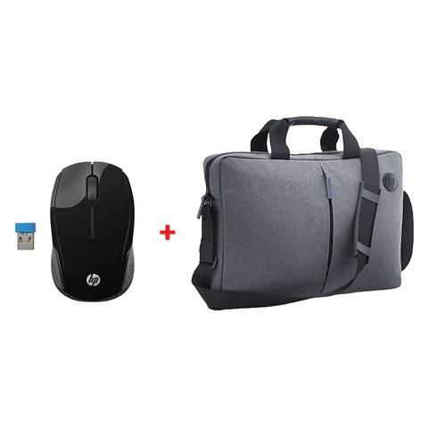 HP-Laptop-Bag15.6-Inch,-Grey---K0B38AA-+-HP-Wireless-Mouse
