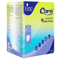 Fine Care Unisex Pull-Ups Adult Diapers Large x14