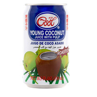 Ice Cool Young Coconut Juice with Pulp Roasted 310ml
