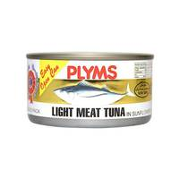 Plyms ligth white meat tuna 185 g