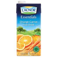 Lacnor Essentials Orange Carrot Fruit Drink 1L