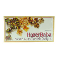 Hazer Baba Mixed Nuts Turkish Delight 454g
