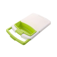Plastic Board With Rectangle Bowl & Strainer