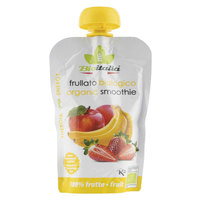Bioitalia Organic Smoothie Apple Banana Strawberry 120g