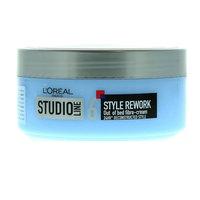 L'Oreal Studio Line 6 Style Rework Out Of Bed Fibre-Cream 150ml