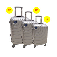 Jixiang Niao Hard Luggage 4 Wheels 3 Pieces 20 + 24 + 28 Inch