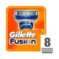 Gillette Fusion Manual Shaving Blades Refill Pack Of 8