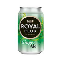 Royal Club The Original Soft Drink Ginger Ale 33CL