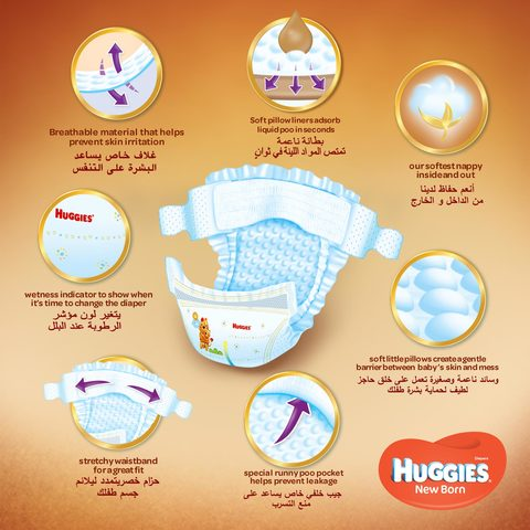 Huggies-Baby-Diapers-Newborn-Size-1-Up-to-5kg-21-Counts