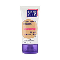 Clean & Clear Cover & Protect BB Cream Light 50ML