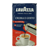 Lavazza Crema E Gusto Classico Ground Coffee 250 g