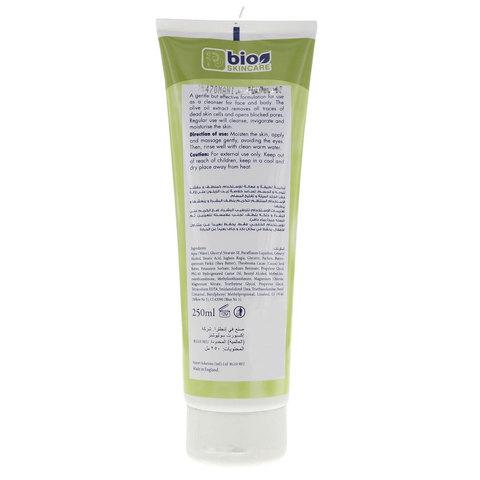 Bio-Skincare-Exfoliating-Olive-Face-&-Body-Scrub-200ml