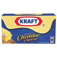 Kraft Block Cheddar Cheese 500g