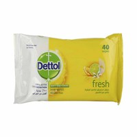 Dettol Wipes Fresh 40 Sheets