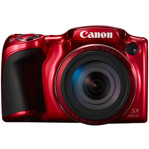Canon-Camera-PowerShot-SX420-Red