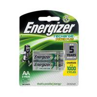 Energizer Rechargeable AA BP 2Pcs
