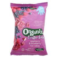 Organix Raspberry and Blueberry Rice Cake 50g