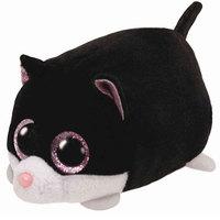 Ty Teeny TYS Cara The Black & White Cat
