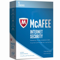 McAfee Internet Security 2018- 1 User