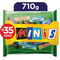 مارس مينيز شوكولاتة منوعة كيس 710 جرام