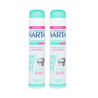 Anti Transpirant Narta Women Deodorant Spray Freshissime 200ML X2 20% Off