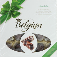 Belgian Seashells Chocolate 250g