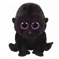 "TY Beanie Boos Plush - George the Gorilla 9"""