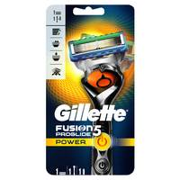 Gillette Fusion ProGlide Power men's razor with Flexball Handle Technology, 1 count