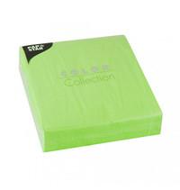 بابستار مناديل قياس 33×33 سنتيمتر 50 قطعة لون أخضر