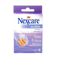 Nexcare Toe Blister 6 Bandages