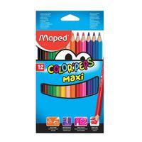 Maped Jumbo 12 Coloring Pencils
