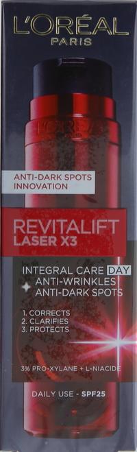 L'Oreal Paris Revitalift Laser x3 Anti-Dark Spot Day SPF 25 50ml