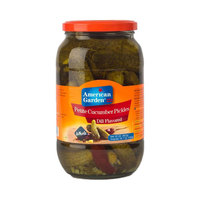 American Garden Petite Cucumber Pickles Dill Flavored 907g