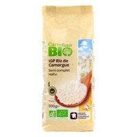 Carrefour Bio Organic IGP Camargue Rice Semi Complete 500g