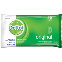 Dettol Anti Bacterial 40 Wipes