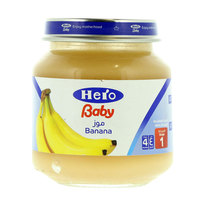 هيرو طعام أطفال موز 130 جرام